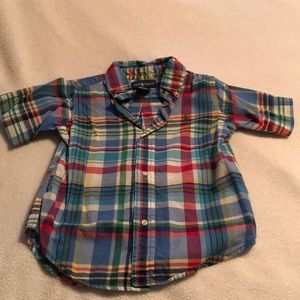 Boys size 3T Ralph Lauren Button Up